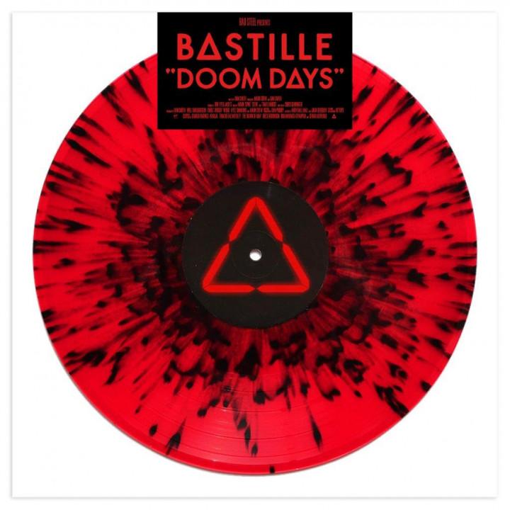 Bastille Doom Days Rot Schwarzes Vinyl