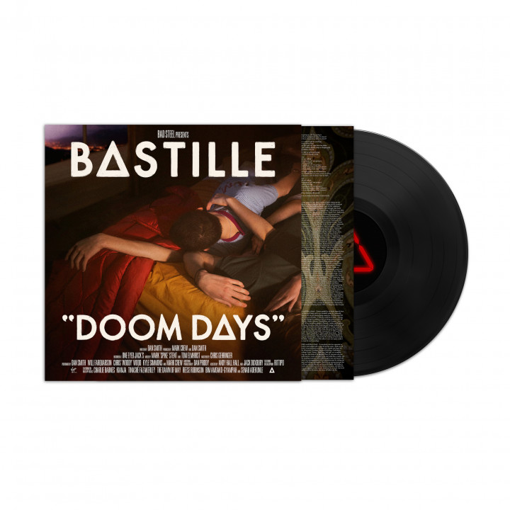 Bastille Doom Days LP Cover