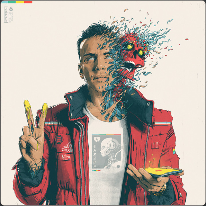 Logic - Confessions of a Dangerous Mind Album Cover