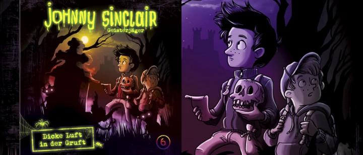 Johnny Sinclair: Dicke Luft in der Gruft - Teil 3 (Hörprobe)