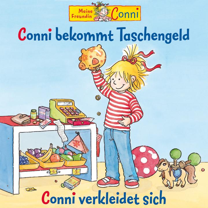 43: Conni bekommt Taschengeld / Conni verkleidet sich (Cover)