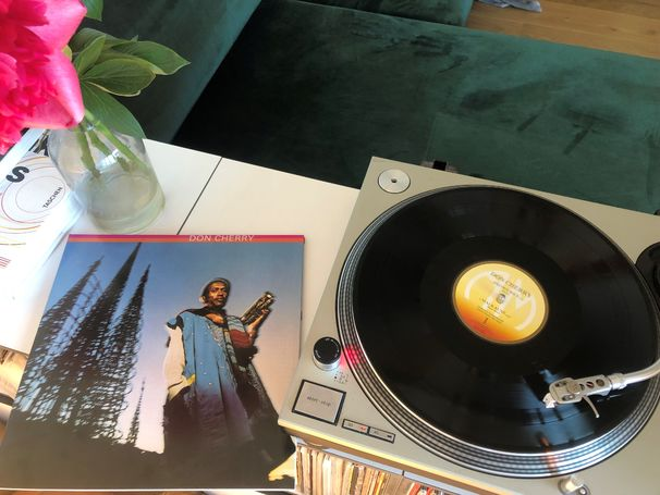JazzEcho-Plattenteller, Cherry on Top – Kult-LP wiederaufgelegt