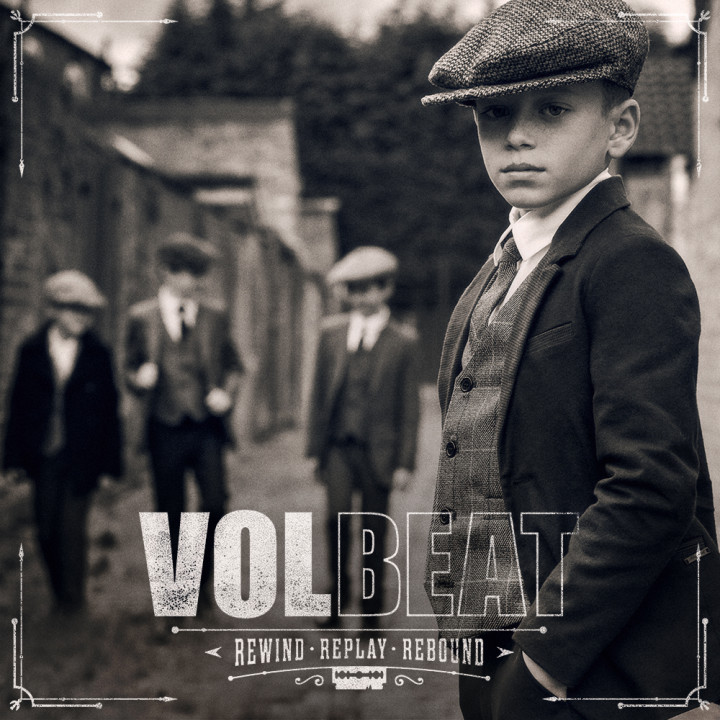 Volbeat Rewind Replay Rebound Cover