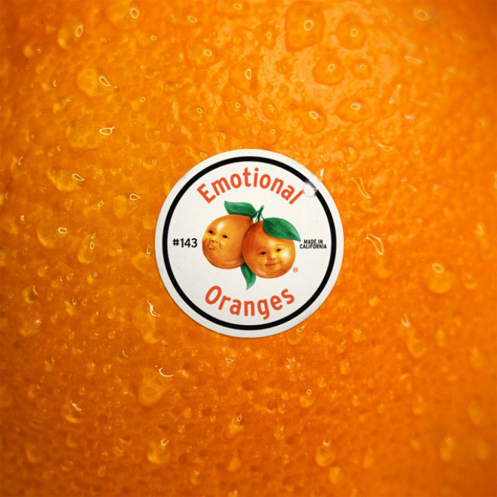 Emotional Oranges - The Juice EP Cover