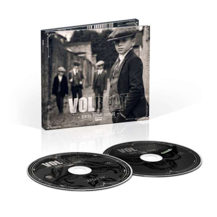 Volbeat Rewind, Replay, Rebound Limited Deluxe 2CD