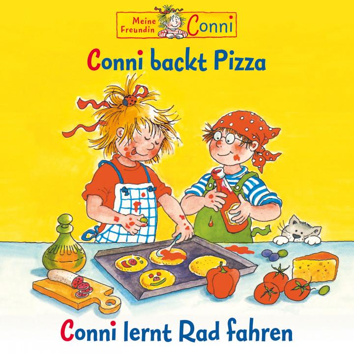 08: Conni backt Pizza / Conni lernt Rad fahren (Cover)