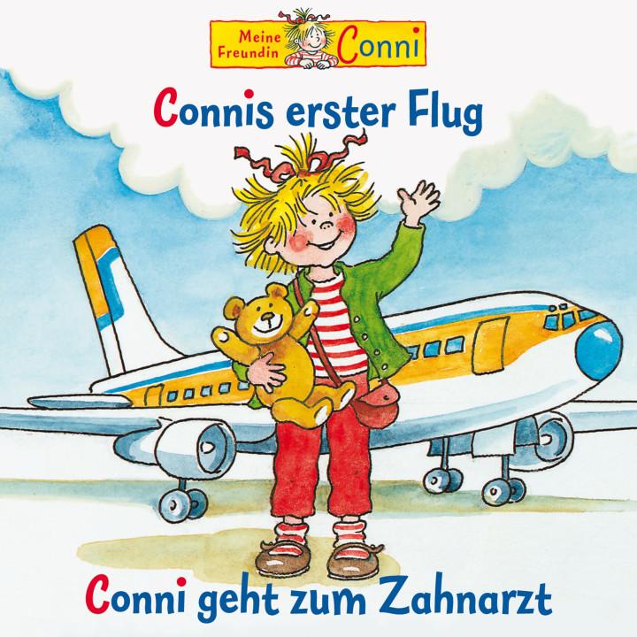 05: Connis erster Flug / Conni geht zum Zahnarzt (Cover)
