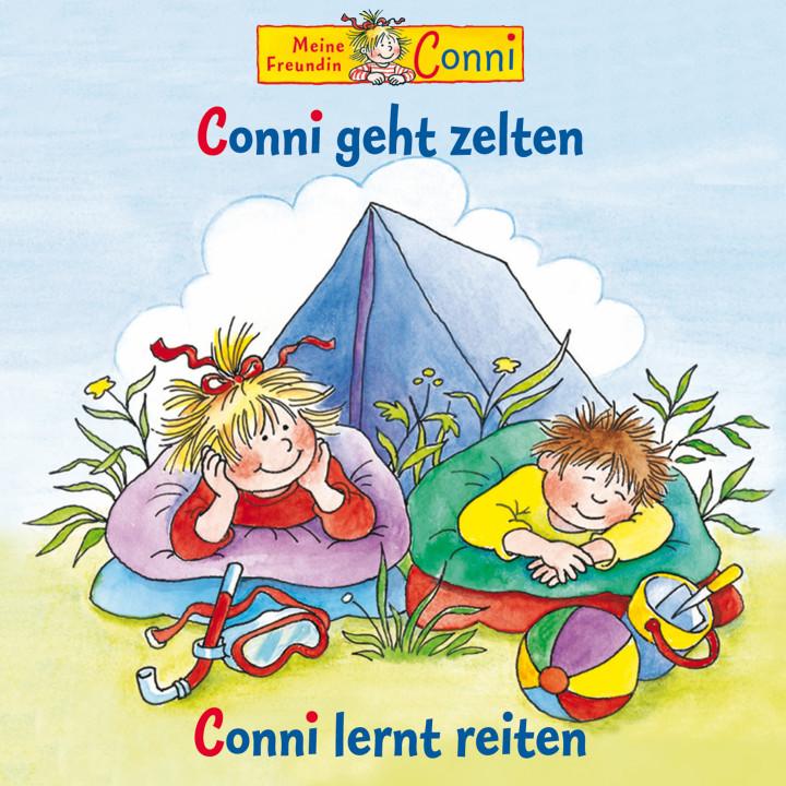 04: Conni geht zelten / Conni lernt reiten (Cover)
