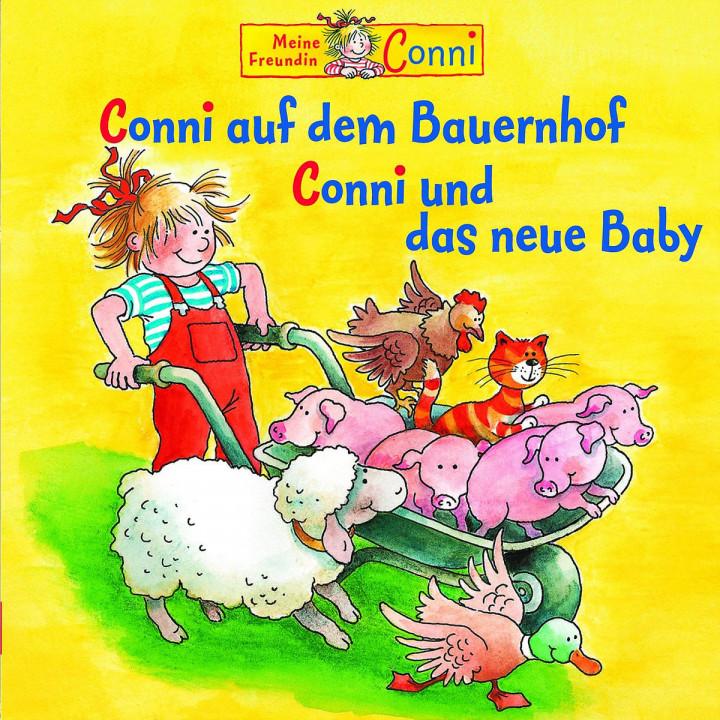 03: Conni auf dem Bauernhof / Conni und das neue Baby