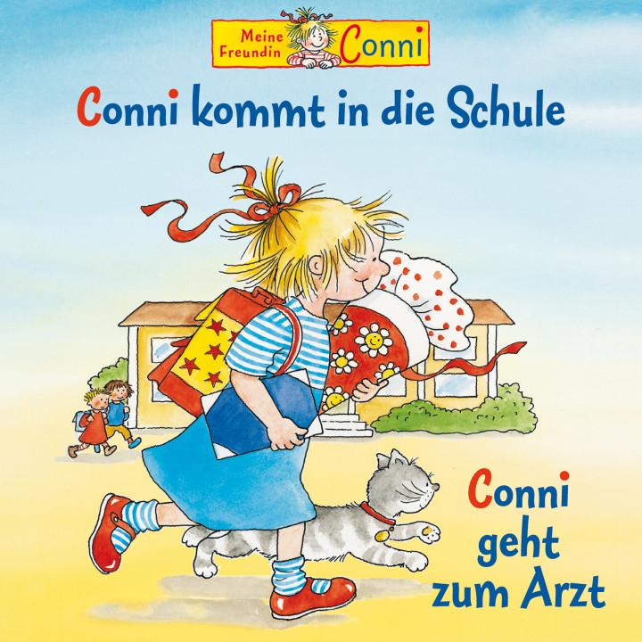 02: Conni kommt in die Schule / Conni geht zum Arzt (Cover)