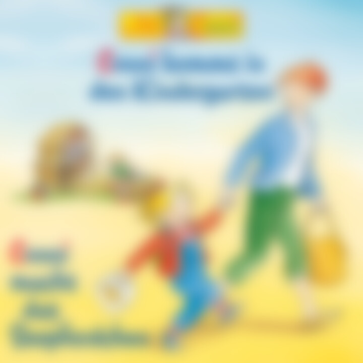 01: Conni kommt in den Kindergarten / Conni macht das Seepferdchen (Cover)