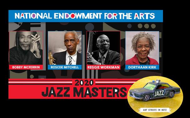 Auf Streife im Netz, Trump zum Trotz - NEA Jazz Masters 2020 bekanntgegeben