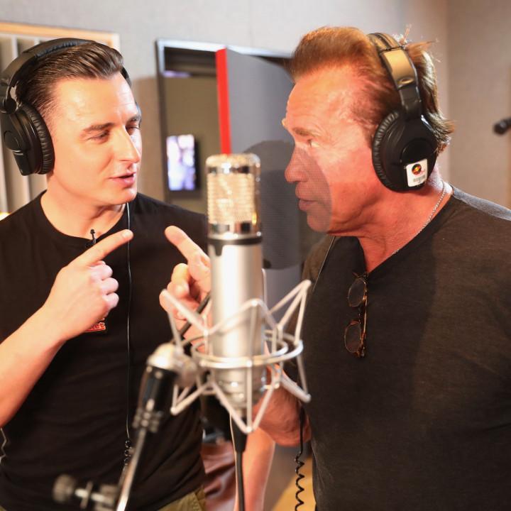 Andreas Gabalier/Arnold Schwarzenegger Pressefoto2