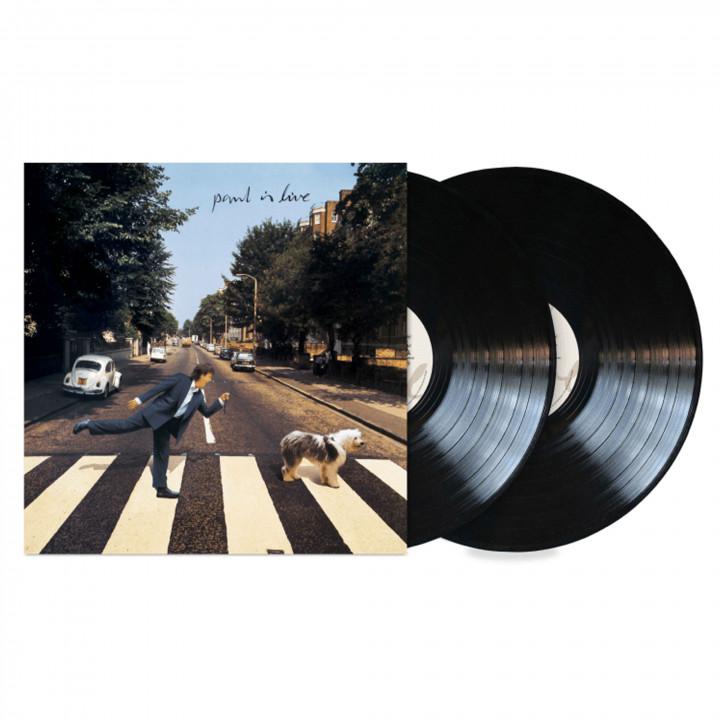 Paul Is Live Black LP