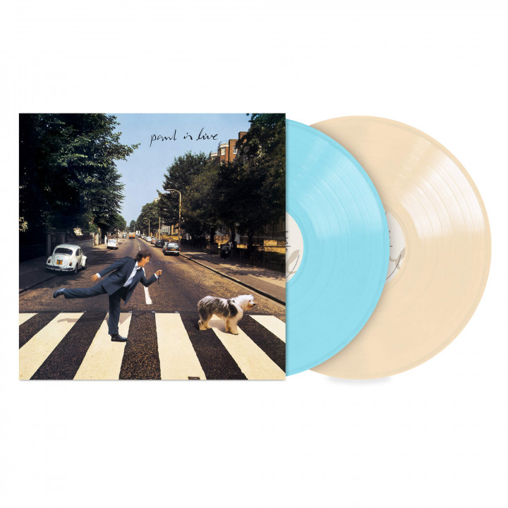 Paul Is Live Ltd. Coloured 2LP