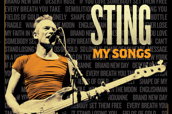 Sting, My Songs, Webgrafik