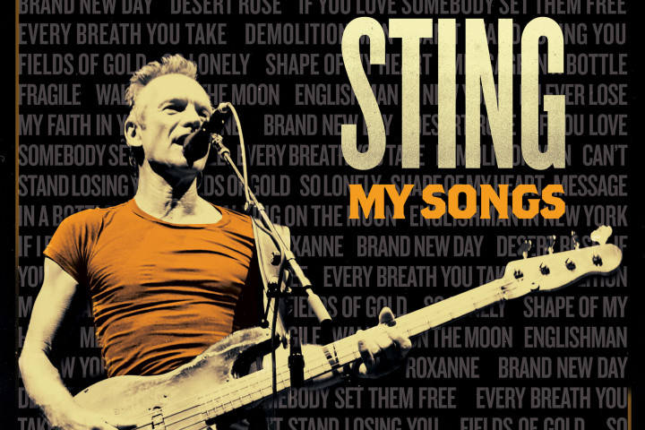 Sting, My Songs, Webgrafik