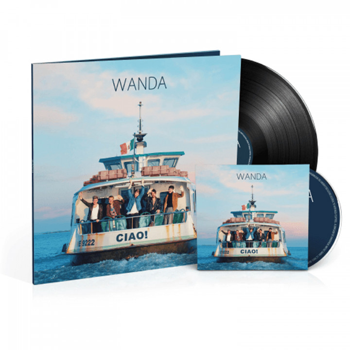 Wanda Ciao Vinyl Schwarz Cover
