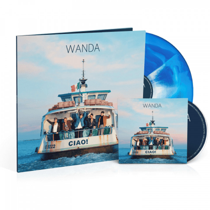 Wanda Ciao! farbiges Vinyl Cover