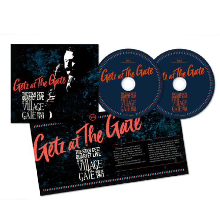 "Stan Getz ""Getz At The Gate"" 2CD Packshot"