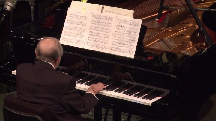 Menahem Pressler - Chopin: Nocturne in C Sharp Minor op. Posth. (Live from Yellow Lounge 2018)