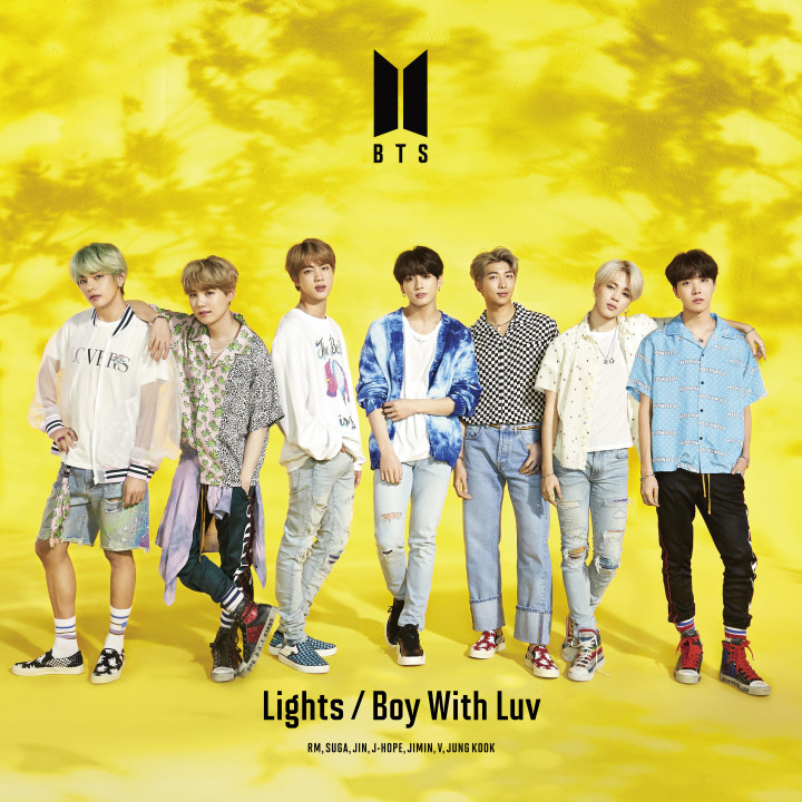 BTS Lights/Boy With Luv Cover A