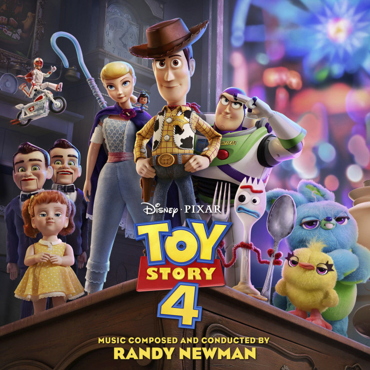 Toy Story 4 Cover International Version