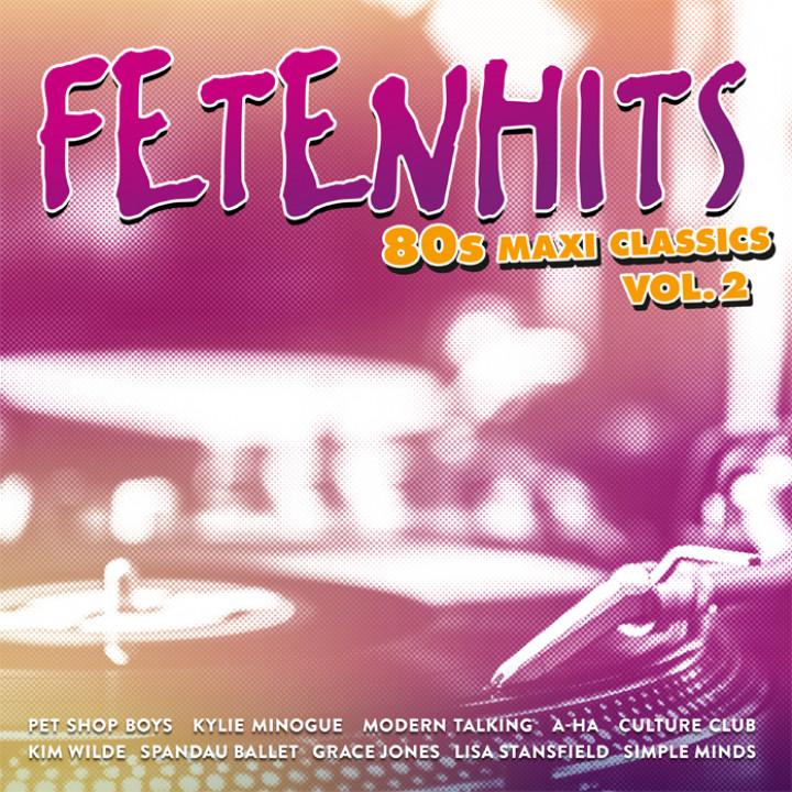 Fetenhits 80s Maxi Classics Cover