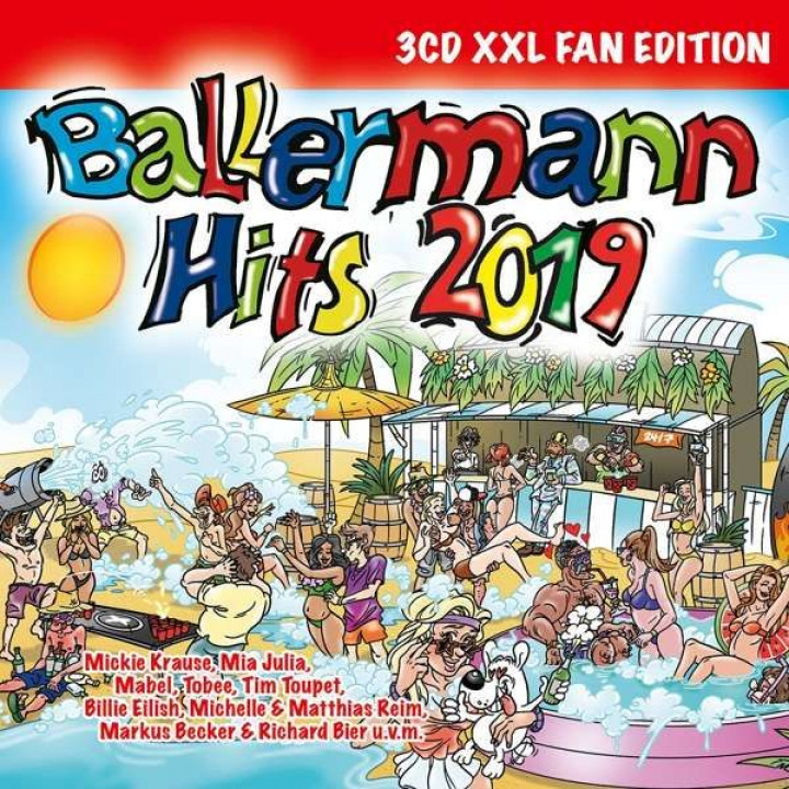 Ballermann Hits 2019 3D Cover