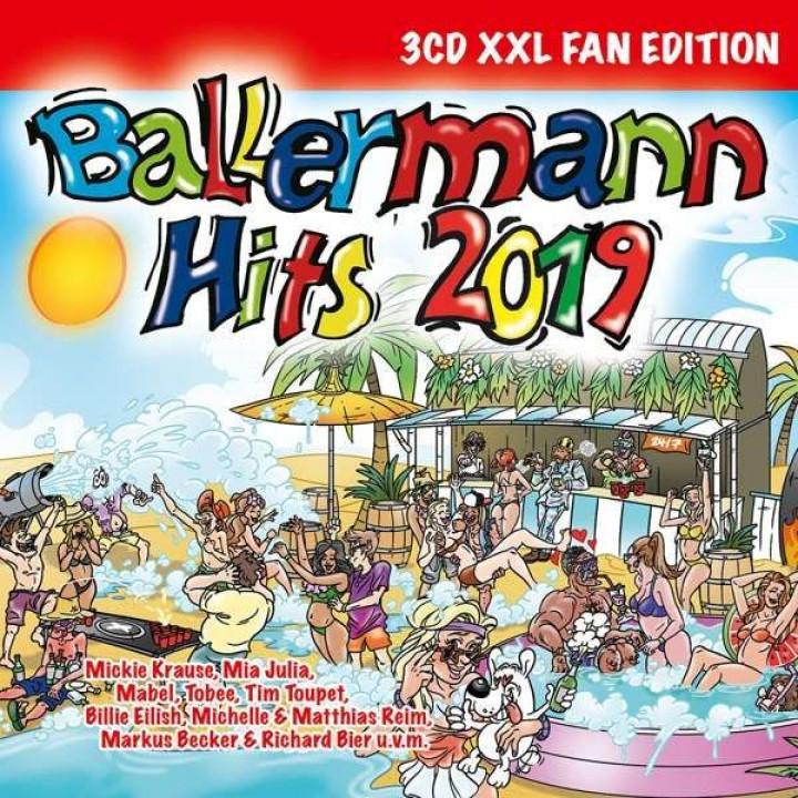 Ballermann Hits 2019 3D Cover
