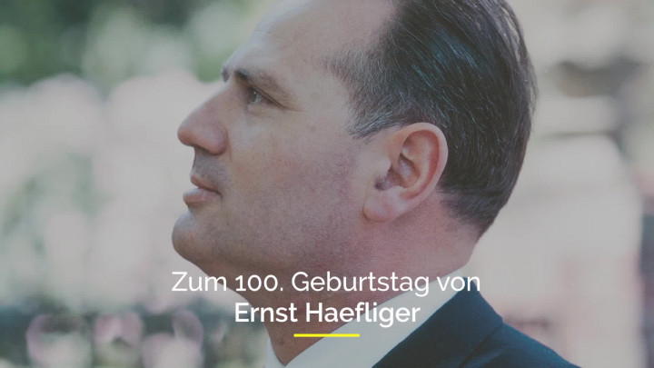 Ernst Haefliger Trailer
