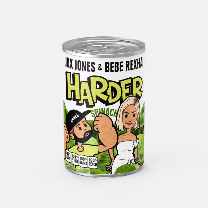 Jax Jones Harder Cover
