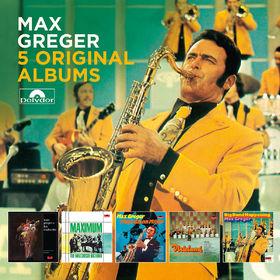 Max Greger, 5 Original Albums, 00600753880470