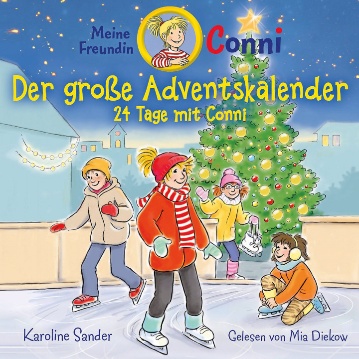 Karoline Sander: Conni - Der große Adventskalender