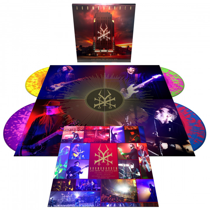 Soundgarden Live At The Artists Den - 4LP Colour