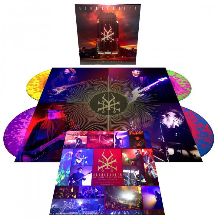 Soundgarden Live At The Artists Den - 4LP Colour