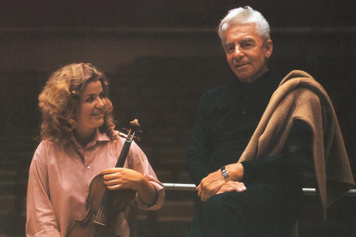 Anne-Sophie Mutter & Herbert von Karajan