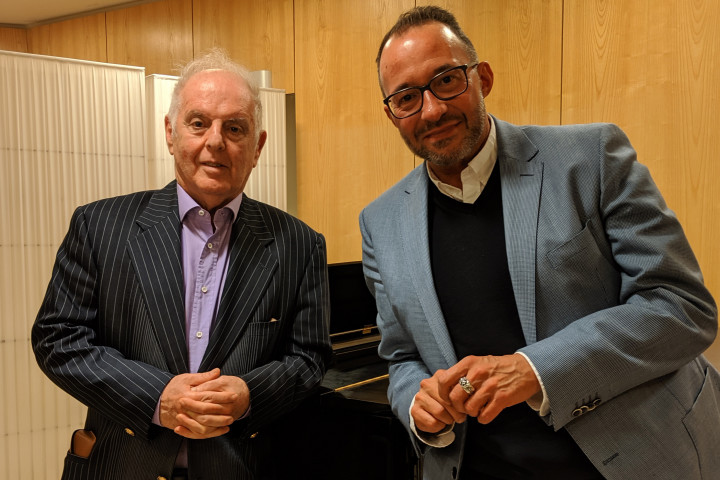 Daniel Barenboim & Holger Wemhoff