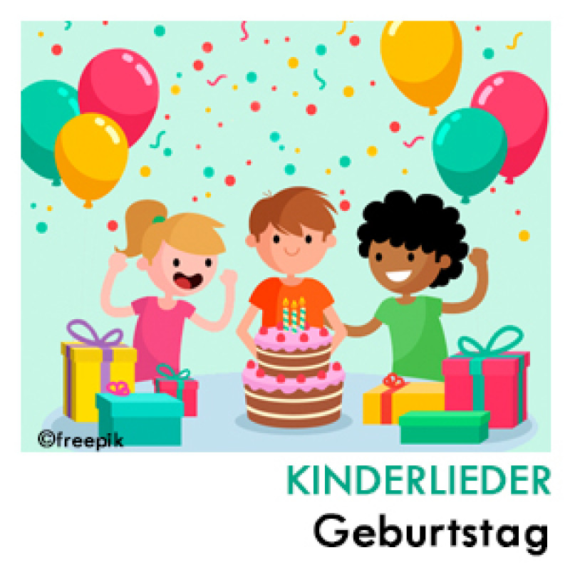Geburtstags Hits Kinderlieder Playlist
