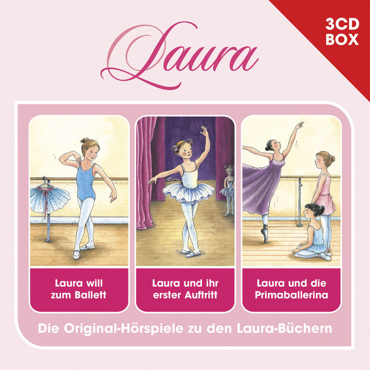 Laura - 3-CD Hörspielbox Vol. 1