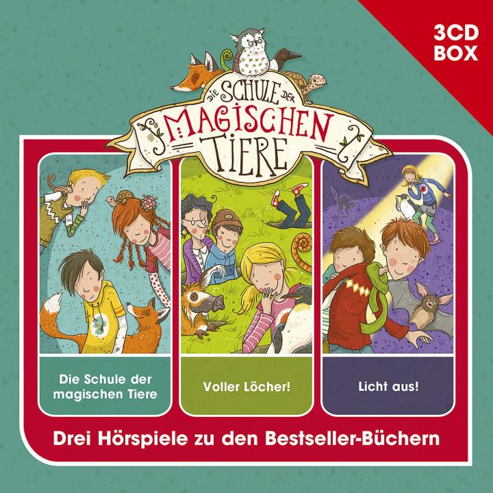 Schule der magischen Tiere - 3-CD Hspbox Vol. 1