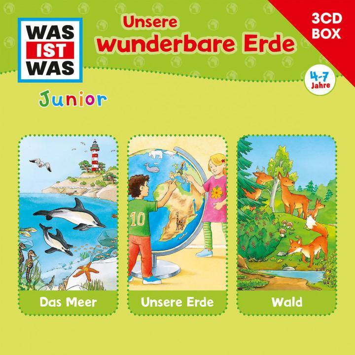 WAS IST WAS Junior—3-CD Hörspielbox – Unsere wunderbare Erde