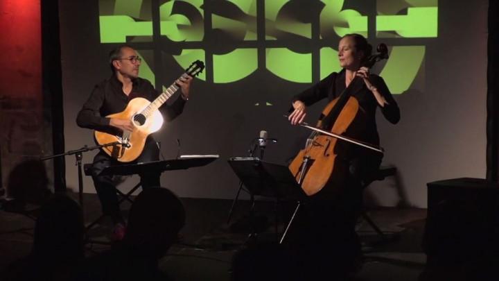 Anja Lechner & Pablo Márquez - Schubert: Die Nacht (Live from Yellow Lounge Berlin)