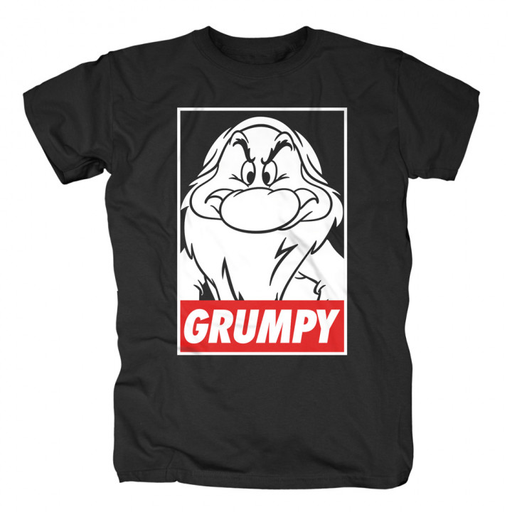 Snow White—Grumpy