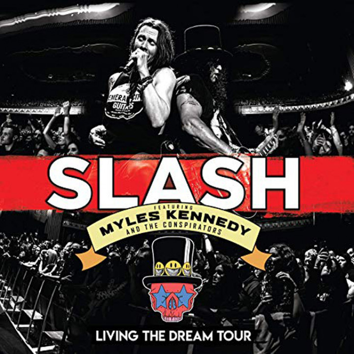 Slash - Living the Dream Tour - Cover