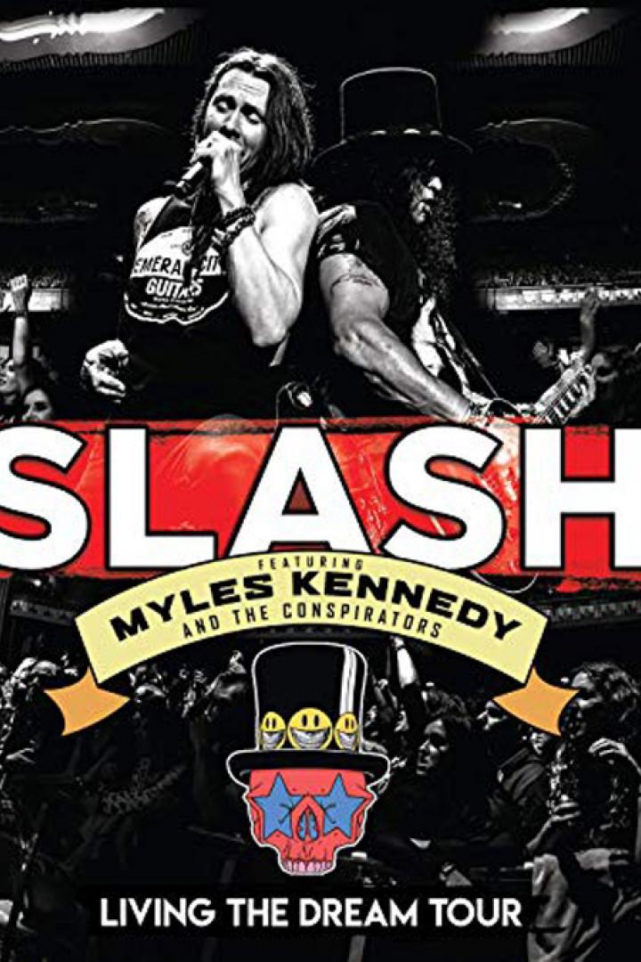 Slash - Living the Dream Tour - Cover