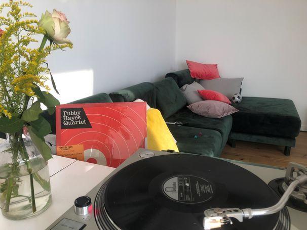 JazzEcho-Plattenteller, Fontana di Tubby - britisches LP-Fundstück