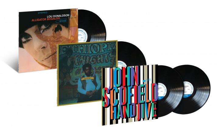 Blue Grooves Vinyl Reissues: Lou Donaldson, Donald Byrd, John Scofield