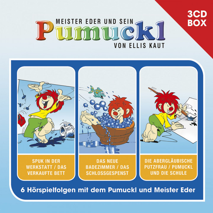 Pumuckl - 3-CD Hörspielbox Vol. 1
