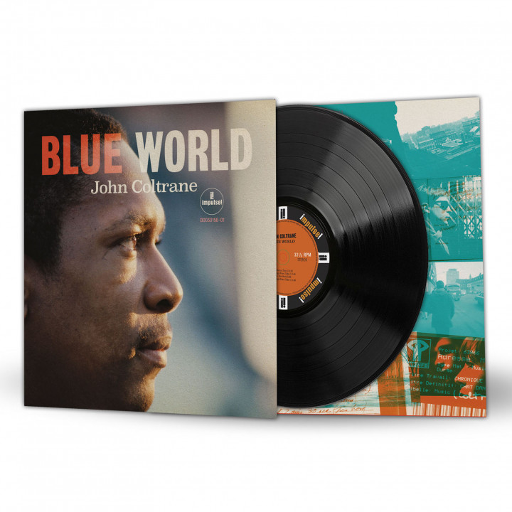 John Coltrane - Blue World - LP Packshot